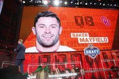 Cleveland Browns eligen a Baker Mayfield con la primera selección global del NFL Draft 2018.  (Jae S. Lee/The Dallas Morning News)
