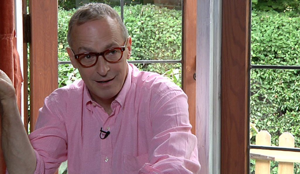 """David Sedaris: """"If I call the hotel front desk, they always say, 'We'll have that right up to you, ma'am.' I think, Really? Do I really sound like a woman? I think I sound like a very small man."""""""