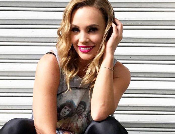 La actriz Jessica Coch (foto) y el guitarrista del grupo La Leyenda Israel Gutiérrez han sabido sortear todo tipo de contratiempos en su relación, incluso la distancia./ AGENCIA REFORMA