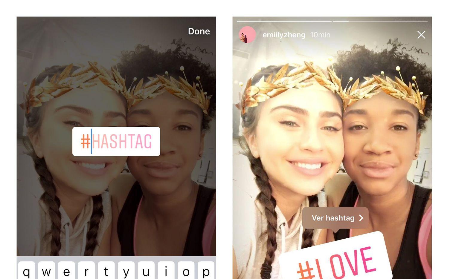 Desde hoy, la plataforma Instagram permite usar 8 distintos filtros faciales, entre los que se encuentran una cara de koala, de conejo y unos lentes./ AGENCIA REFORMA