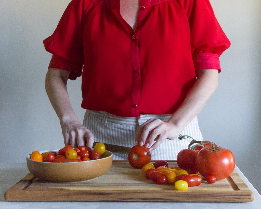 When preparing tomato dishes, consider which tomato variety will best suit your cooking needs.