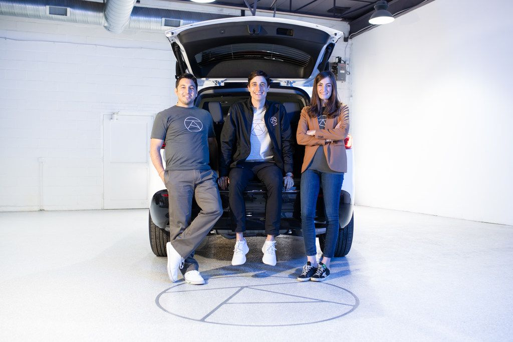 Alto's leadership team includes chief technology officer Jonathan Campos (from left), CEO Will Coleman and chief customer officer Alexandra Halbardier.