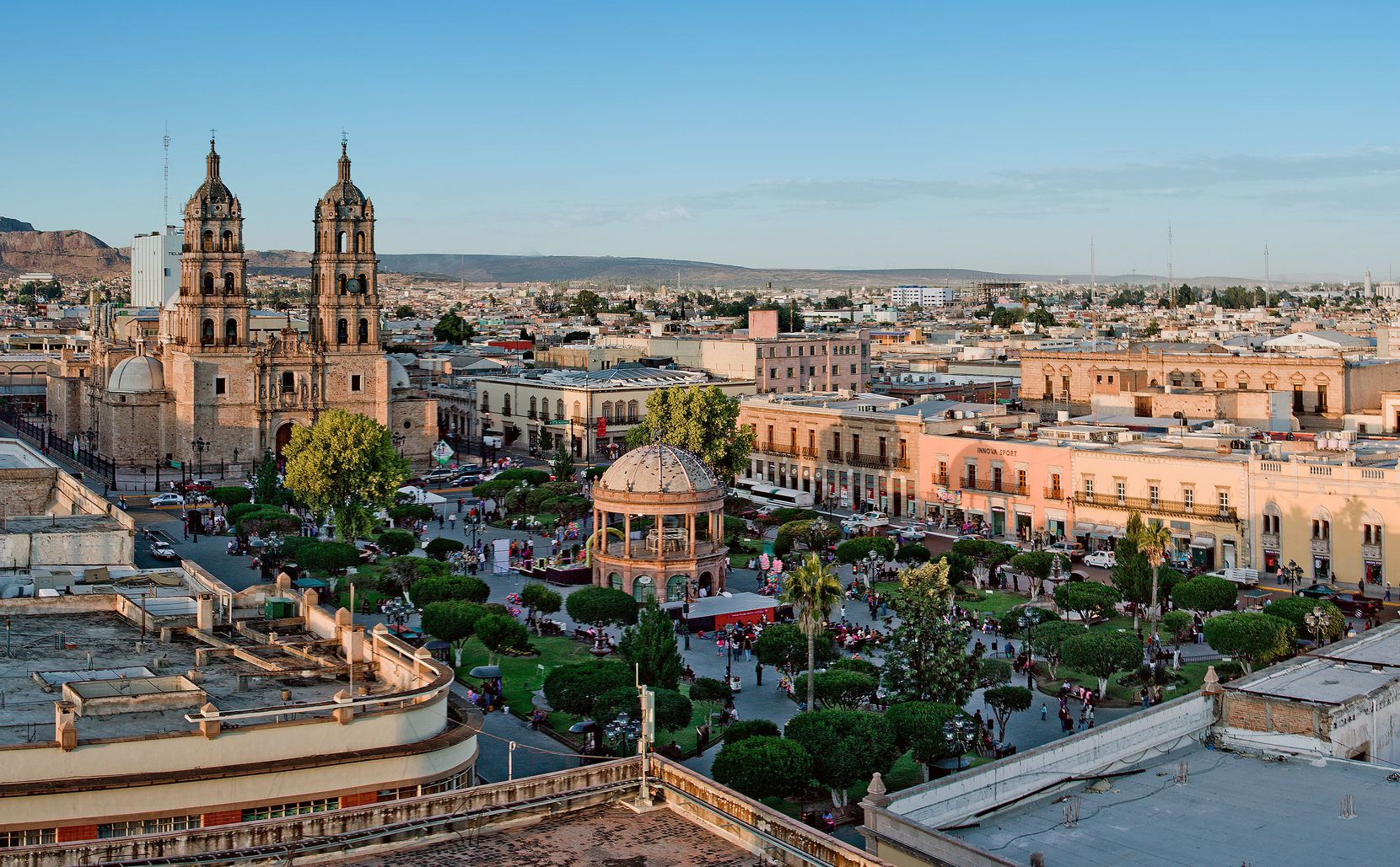 Durango is the capital city of its namesake state in central Mexico.