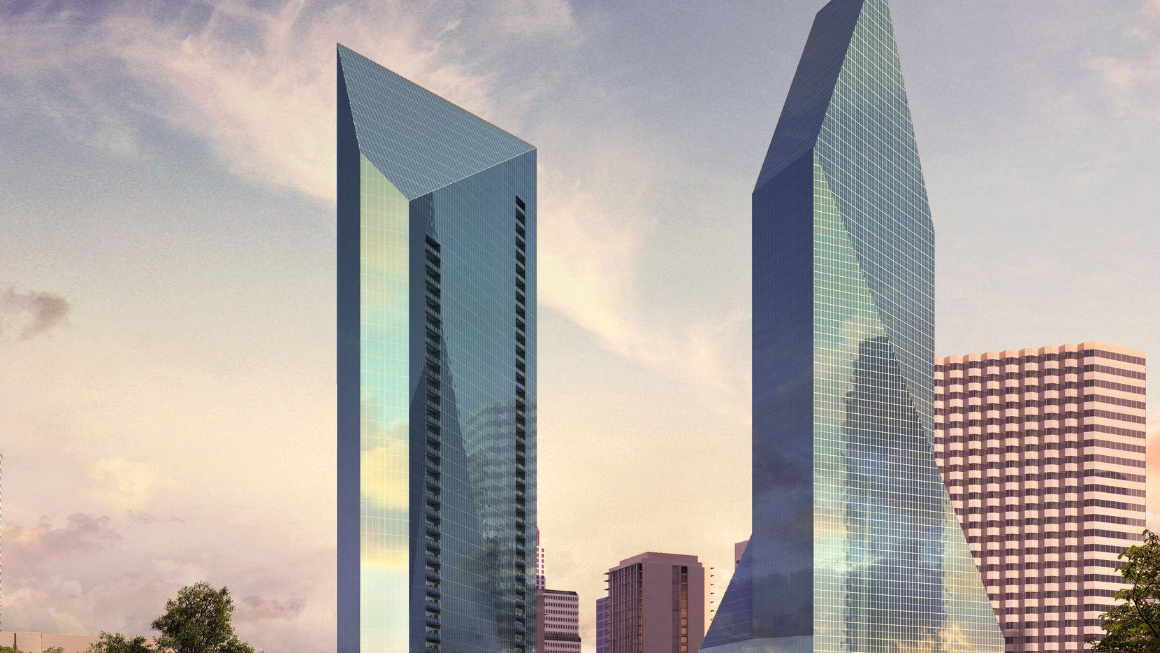 Striking new skyscraper in downtown Dallas will be tallest