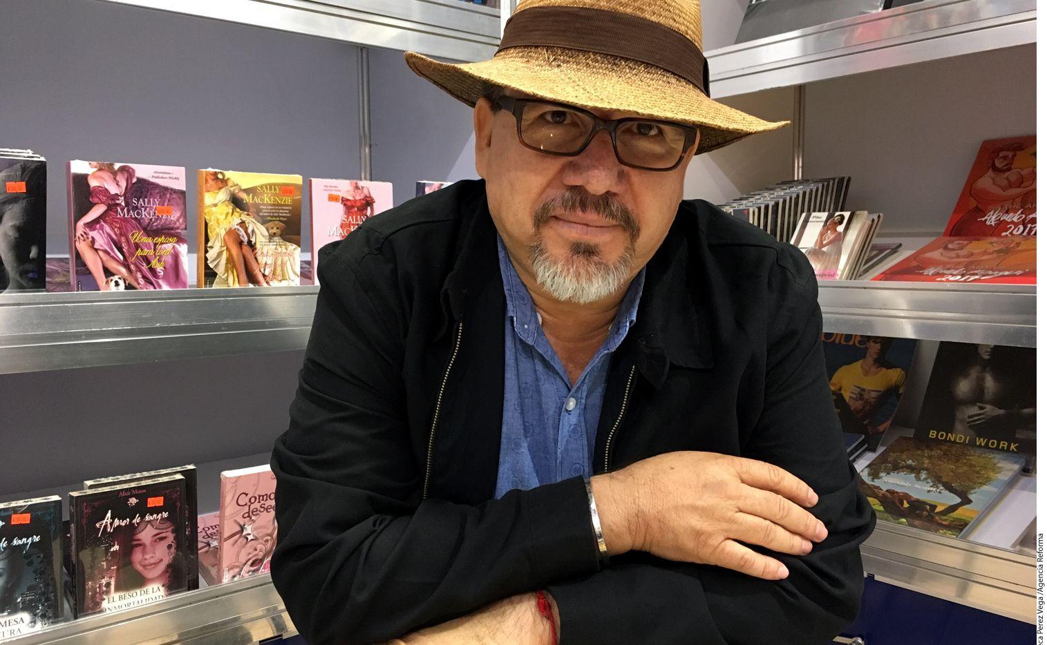 El periodista y escritor Javier Valdez, quien fue acribillado. Valdez cubría en Sinaloa, México, el narcotráfico. Foto AGENCIA REFORMA