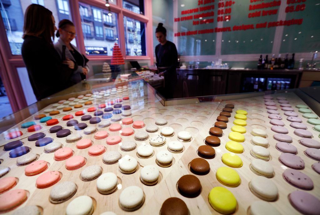Joy Macarons is a specialty bakery that bakes exclusive French macarons in dozens of different flavors.