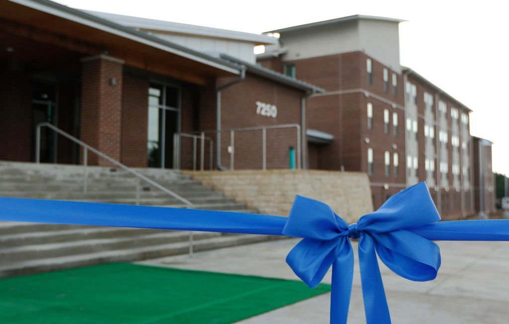 The University of North Texas at Dallas opened its first residence hall on Thursday. Students will move in in a few weeks.