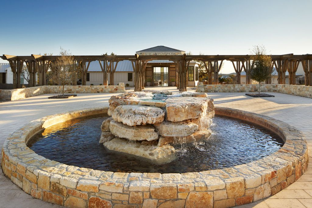 Miraval Austin is calming from the moment you arrive on the property.