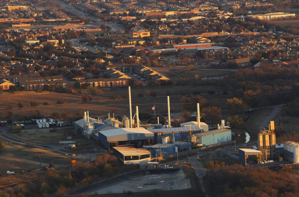 The Exide Technologies plant as seen in Frisco on Nov. 28, 2012, two days before it ceased operations.
