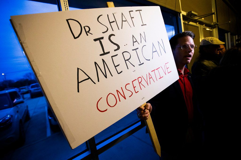 Thursday's  vote followed months of media coverage of the push to remove Shahid Shafi and, more recently, condemnation of the effort from prominent statewide Republicans, including Sen. Ted Cruz and Gov. Greg Abbott,