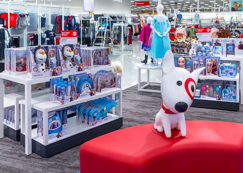 Disney is the latest shop inside Target. Two of 25 opened nationwide are in Allen and Euless. Target has added several branded shops in its stores.