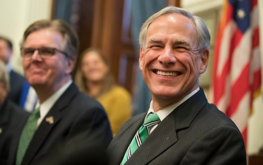 Paul Bettencourt , Lt. Gov. Dan Patrick, Gov. Greg Abbott  and Speaker Dennis Bonnen as well as chairmen for committees charged with studying property tax reforms spoke to the news media during  a press conference Thursday morning about tax reform in Texas.