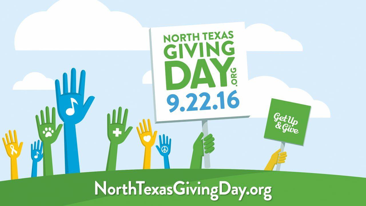 North Texas Giving Day es el jueves, 22 de septiembre.