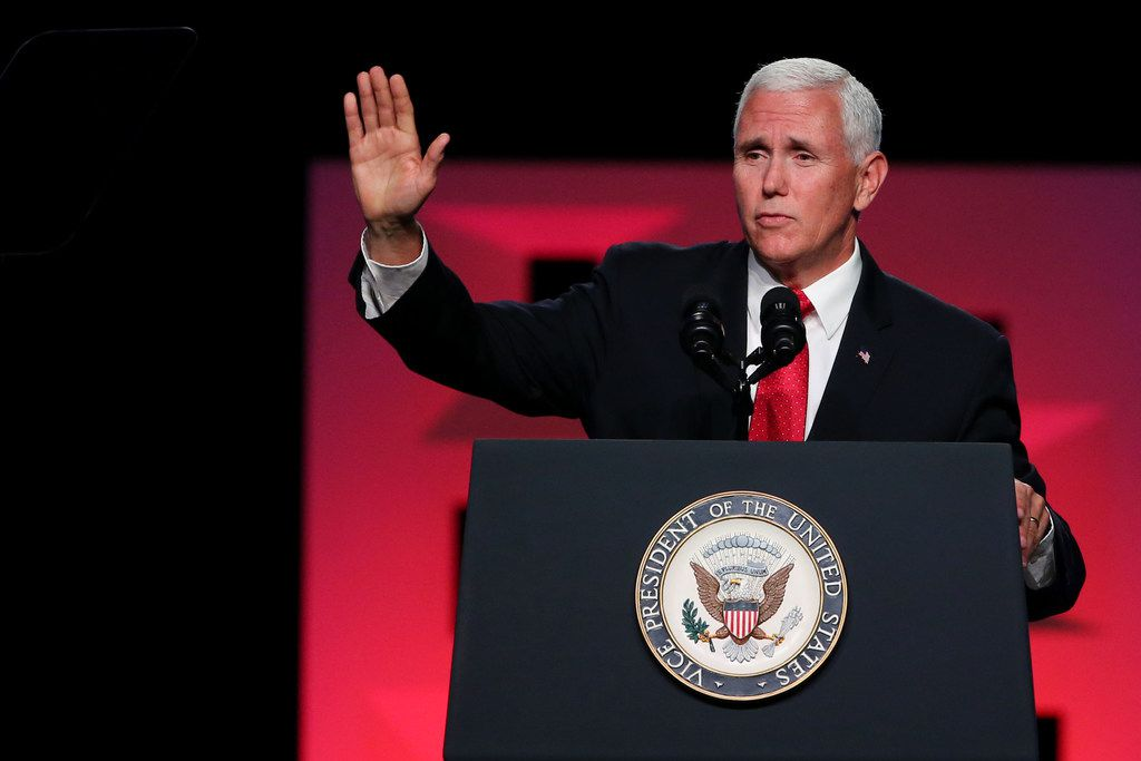 Vice President Mike Pence will campaign in Dallas next week.