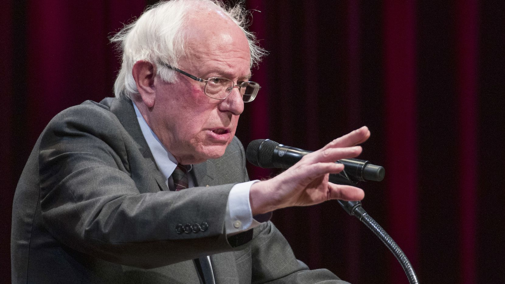 El senador Bernie Sanders de Vermont buscará la nominación demócrata para la campaña 2020. AP