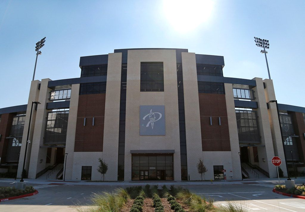 The 12,000-seat Children's Health Stadium at Prosper ISD opens this season. Total construction cost for the stadium was $53 million.