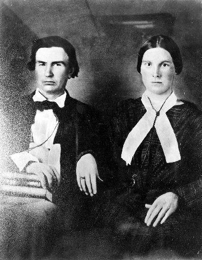 Mr. and Mrs. John Neely Bryan  (Margaret Beeman Bryan)