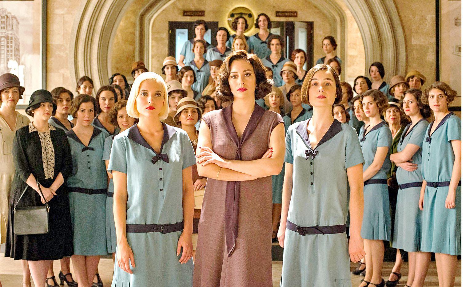 """""""Las Chicas del Cable"""" regresa con más intrigas y secretos alrededor de las protagonistas./ AGENCIA REFORMA"""