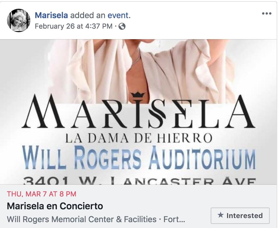 Marisela en Fort Worth