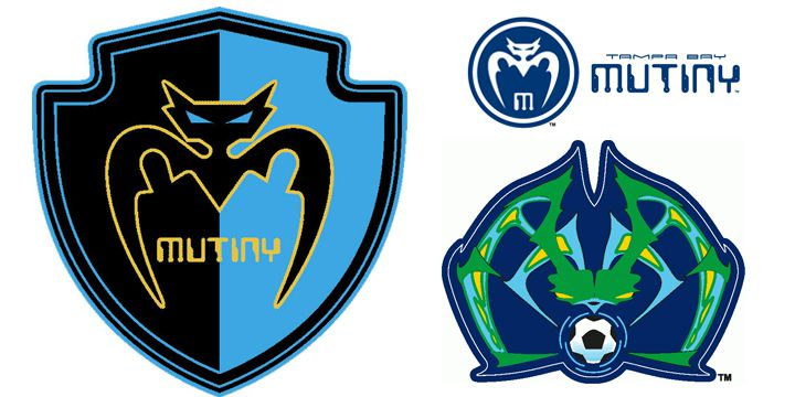 Tampa Bay Mutiny Logos