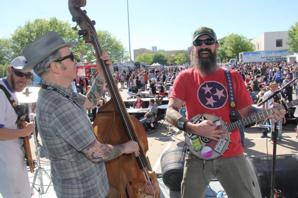 The Big Texas Beer Fest is Dallas' original beer festival. The 2016 event is the fifth-annual. As far as we know, we're the first craft beer festival to take place over a *2* day period on April 1 and 2 at the Fair Park Automobile Building. Shotgun Friday performed