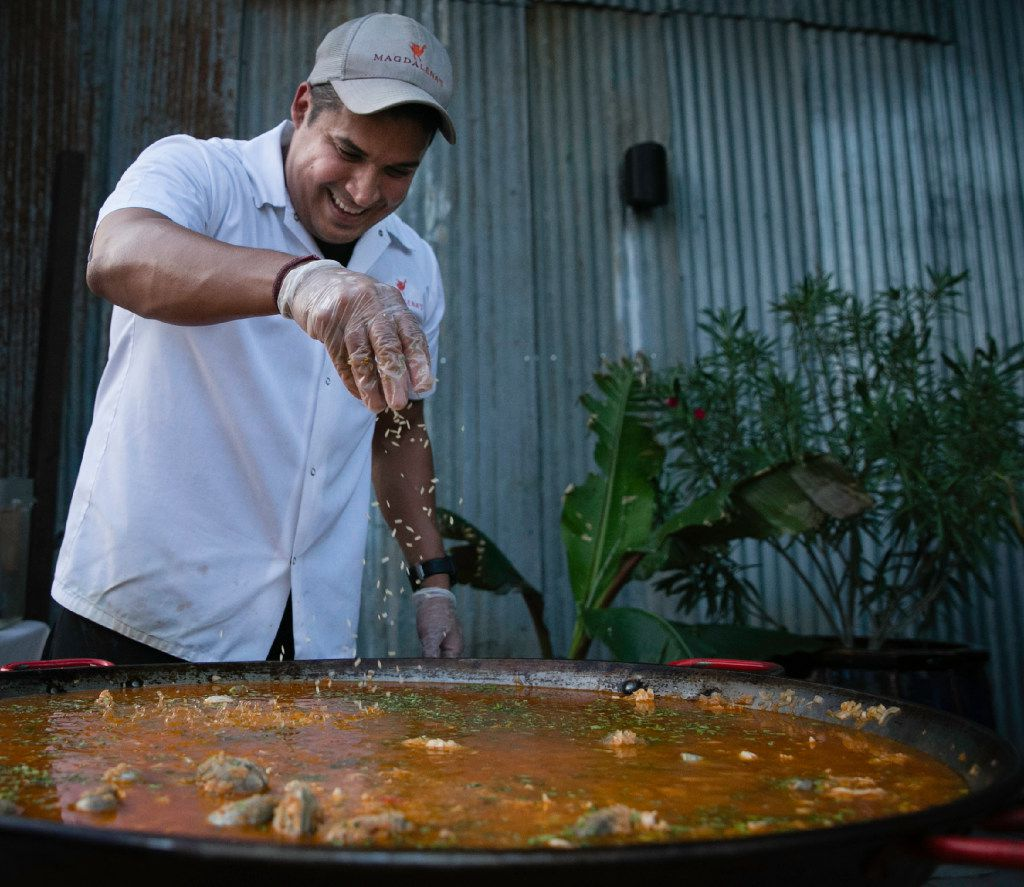Chef Juan Rodriguez was inspired on a trip to Portland to try a pop-up dinner program. Success was immediate.