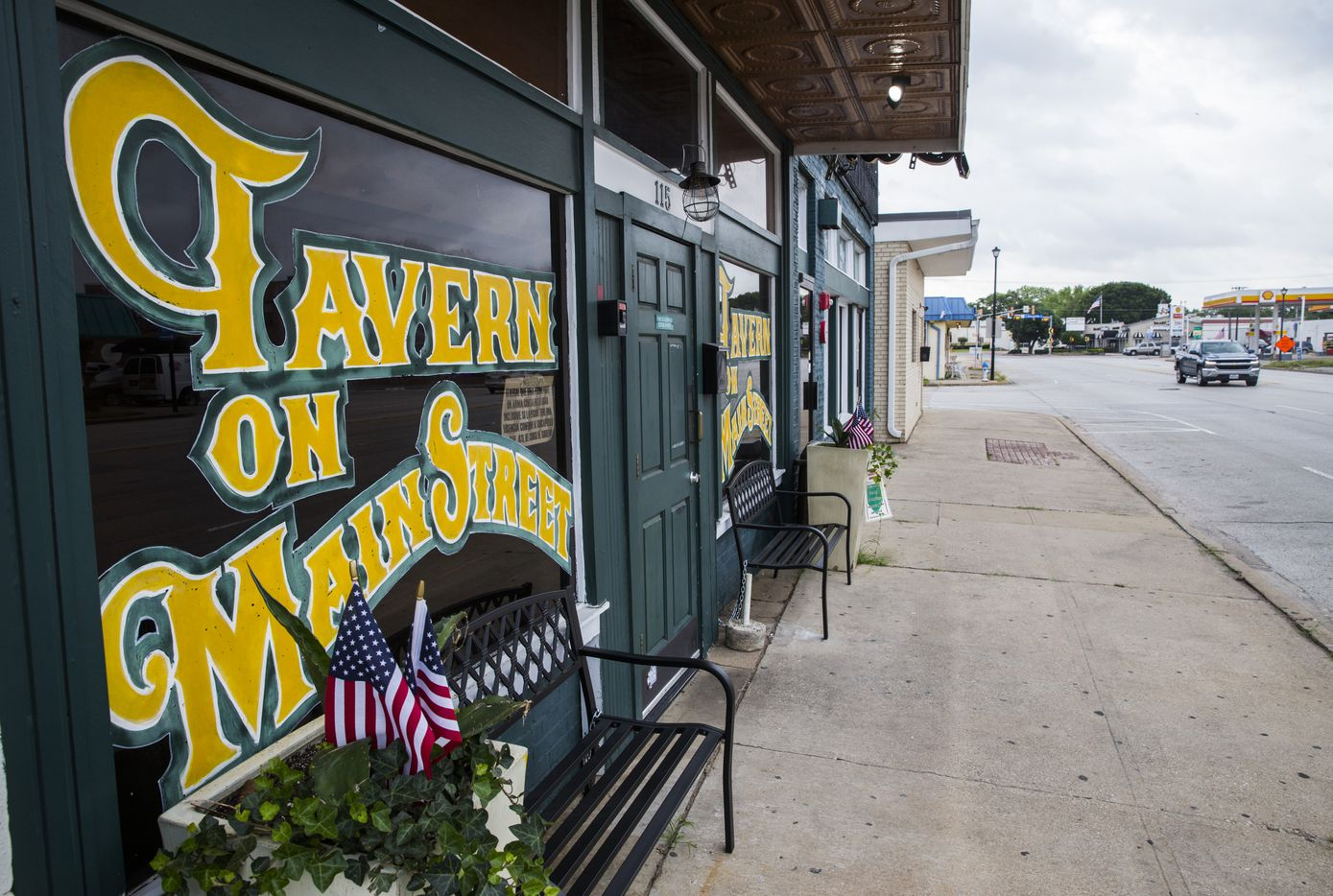 Tavern on Main Street is seen on 100 block of East Main Street in old downtown Richardson, an area set for redevelopment.