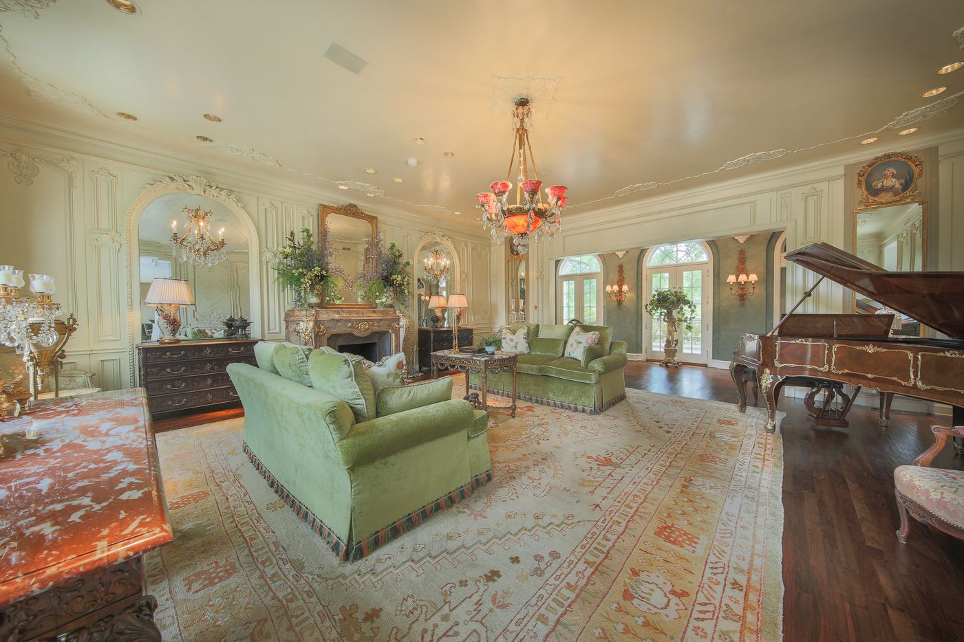 The Pilgrim Estate has six bedrooms and 10 baths.