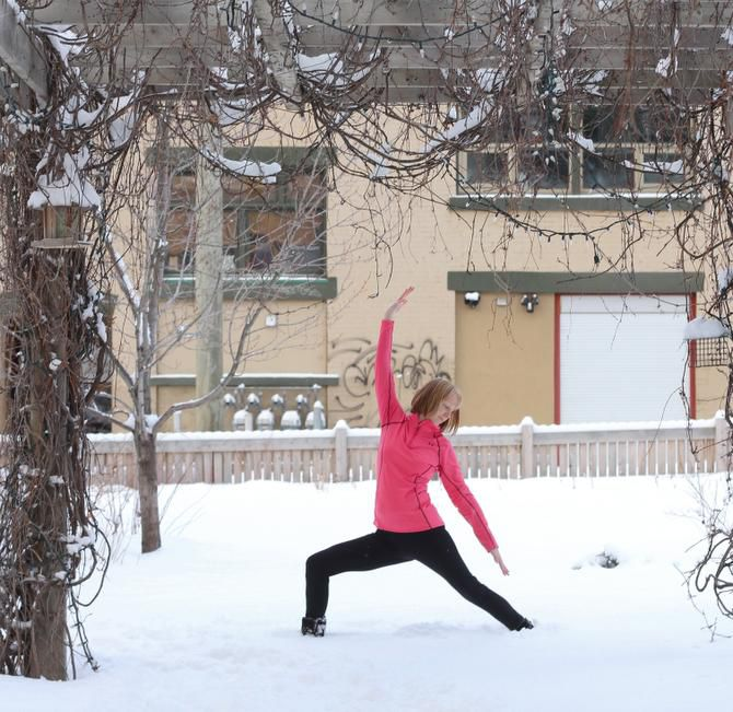 """At Fernie, breathe in the """"fresh, clean air and pranic energy,"""" says Cheryl Sherry."""