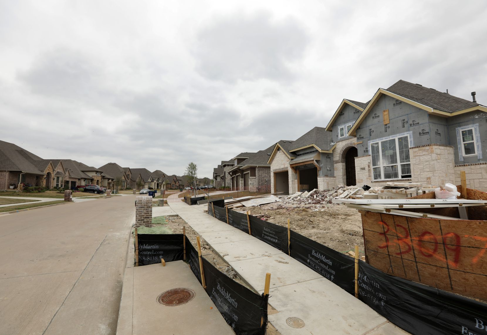Plans for the Trinity Falls community north of McKinney call for 5,000 homes.