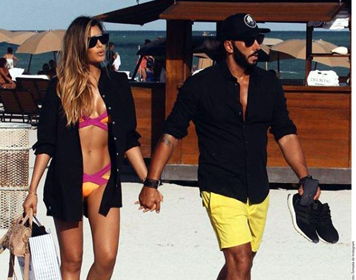 Ariadna Gutiérrez compartió fotos luciendo cuerpazo y una imagen de su novio, el DJ Cedric./ AGENCIA REFORMA