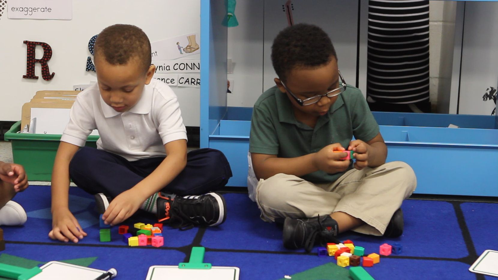 Children learn through play at Harllee Early Childhood Center.