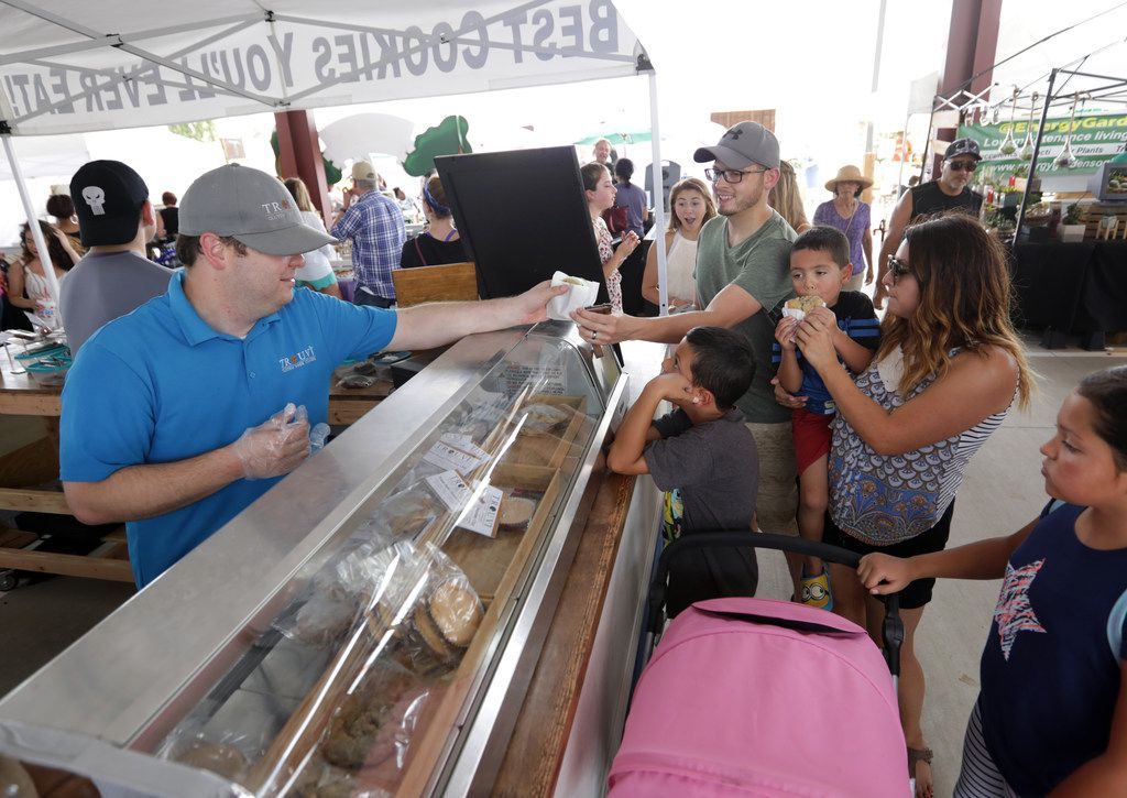 There are lots of sweets and treats at the Frisco Fresh Market.