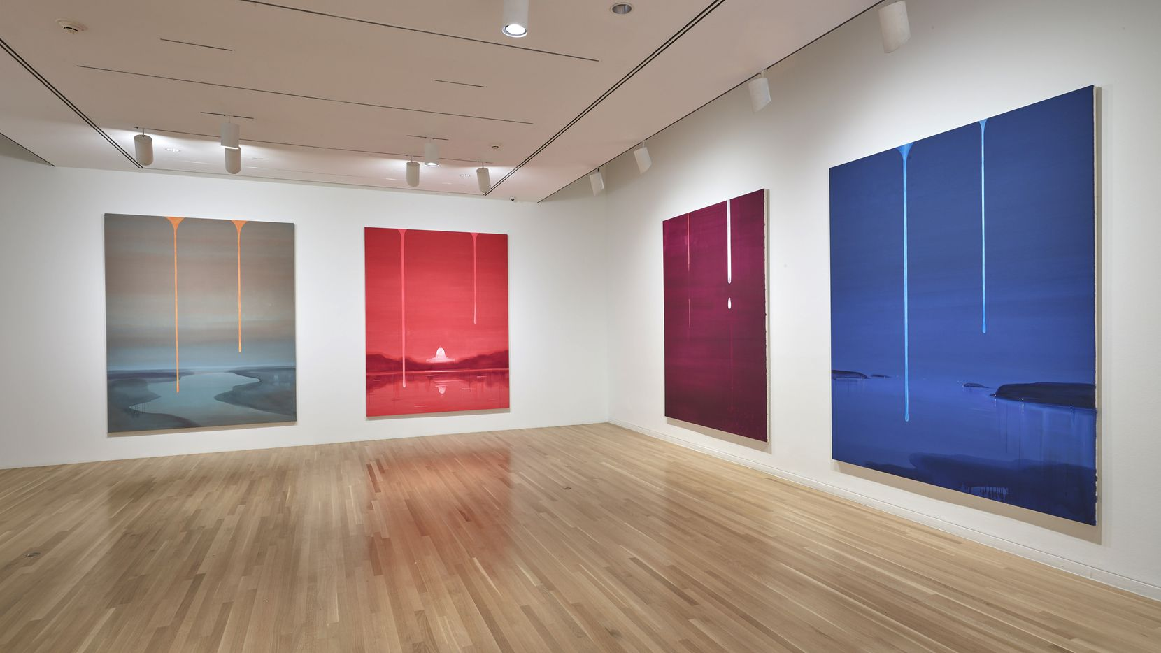 Wanda Koop painted all the works in her new Dallas Museum of Art exhibition especially for the occasion.