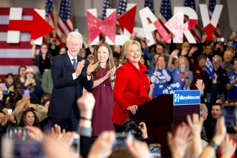Hillary Clinton tendrá una dura pelea en New Hampshire.