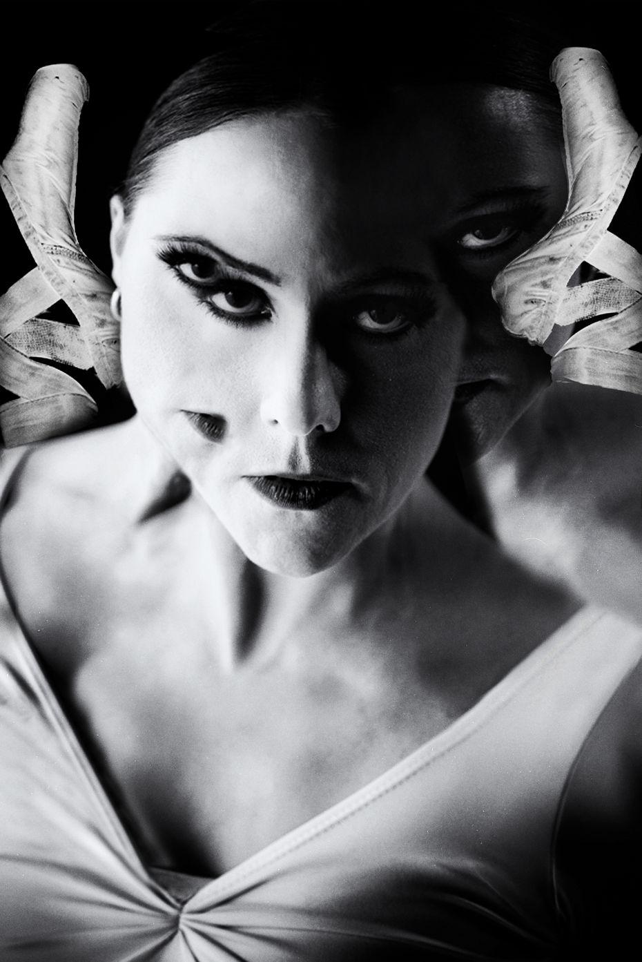 Dancer-choreographer Erin Boone's surreal look.
