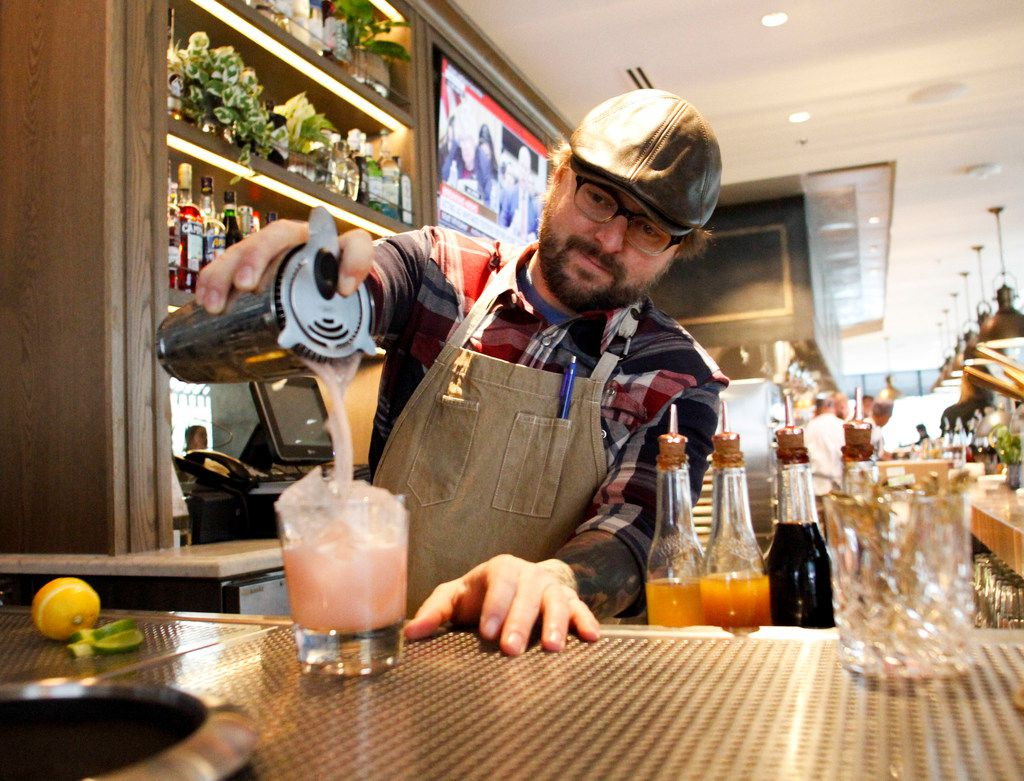 The Almost Naked Margarita at The Henry restaurant in Uptown Dallas is bound to be popular. The Henry is now open in Dallas.