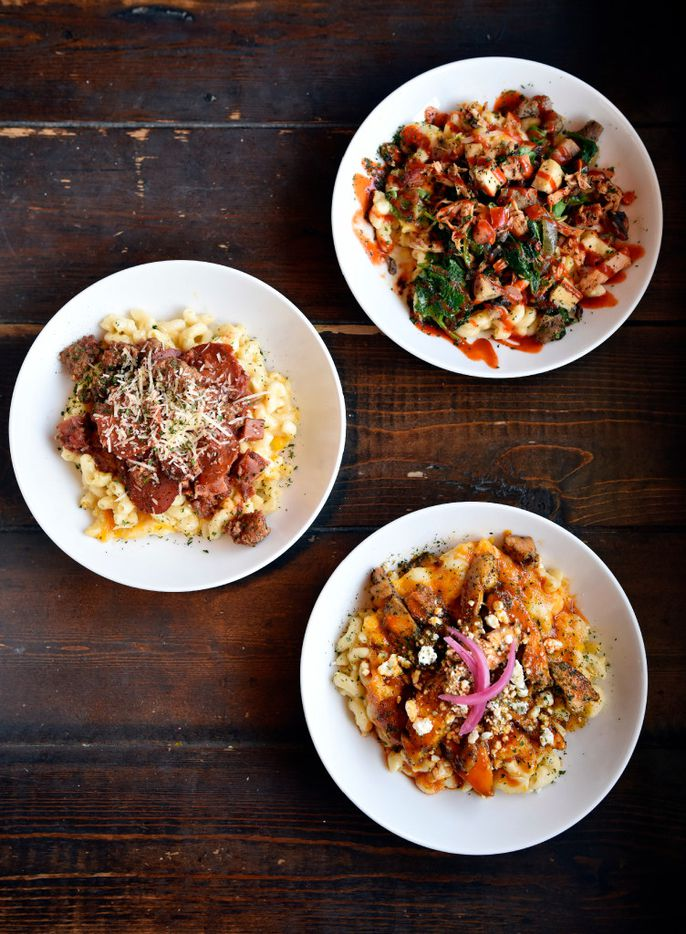 The 12 mac 'n cheese options on the Central Mac menu at Stonedeck range from meat lovers to a French-inspired twist with goat cheese and Brussels sprouts.