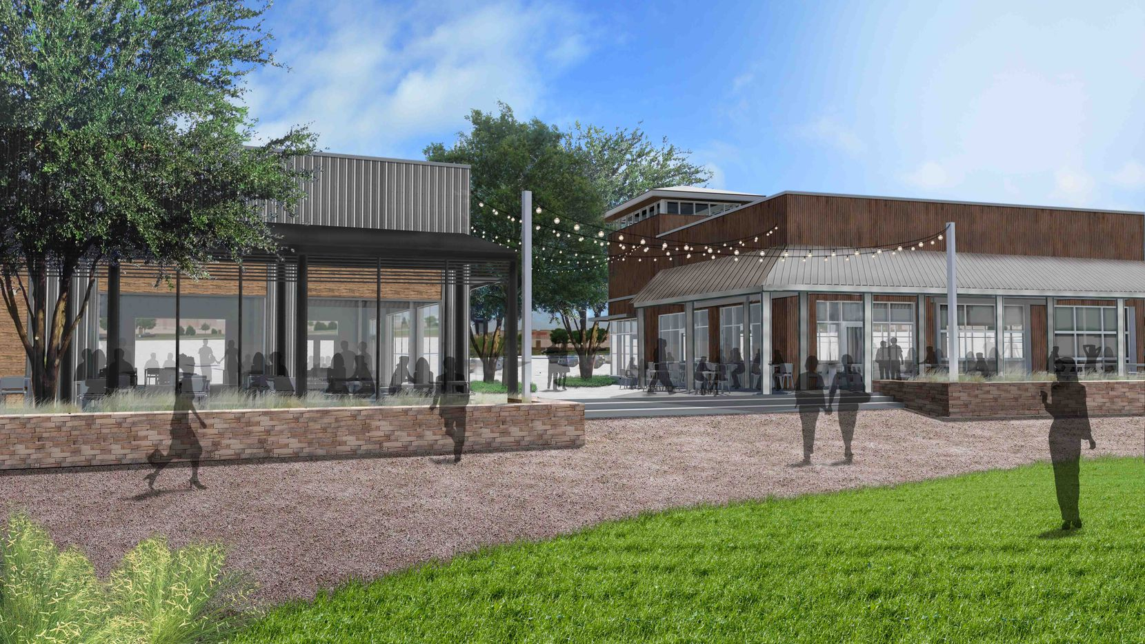Hillwood is building the 3.5-acre restaurant and entertainment park in its AllianceTexas development.