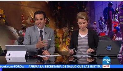 Los periodistas de Televisa pidieron una explicación a la Marina Mexicana por cambio en versión de la niña  supuestamente atrapada en el Colegio Rébsamen.