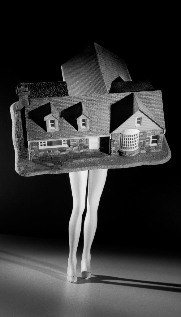 'Walking House,' 1989, Laurie Simmons, pigment print.