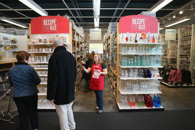 The Container Store spends half its revenue on people, which is much more than the industry average and famed retailers Saks, Macy's and Nordstrom.