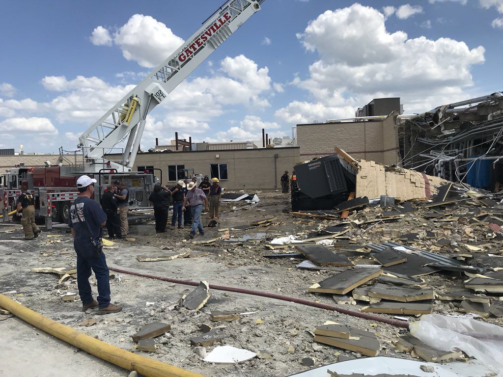 One person was killed and at least a dozen injured after an explosion at Coryell Memorial Hospital in Gatesville.