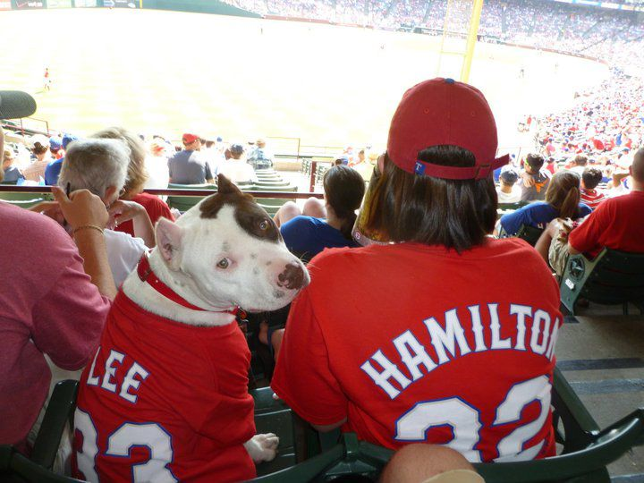 The Rangers' final Bark at the Park game is Saturday.