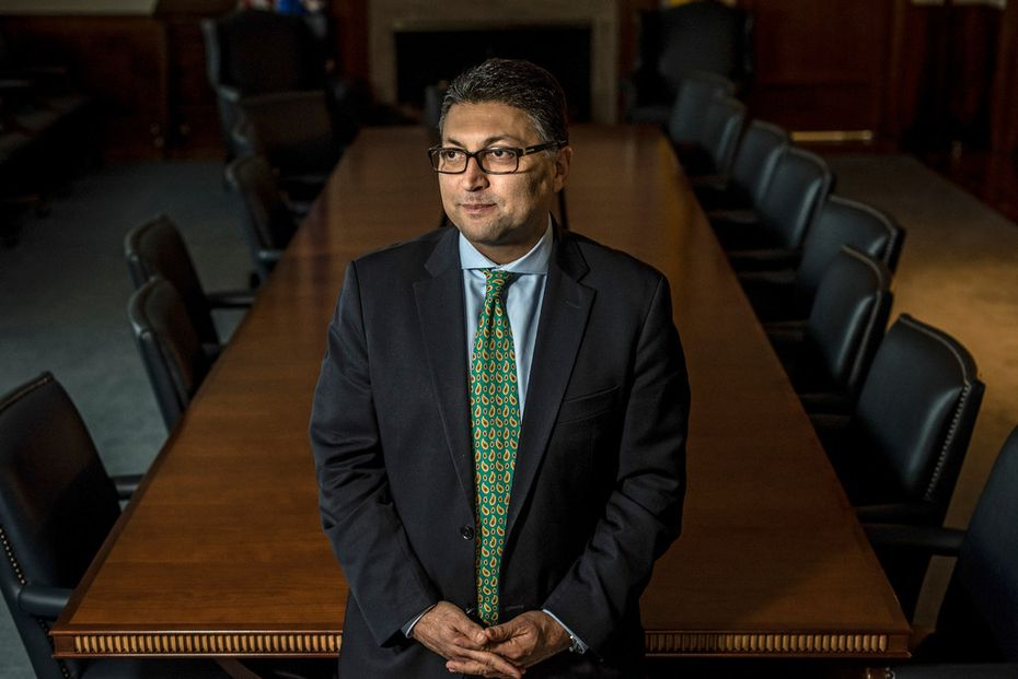 Makan Delrahim, who leads the Justice Department's antitrust division, has said he's skeptical of using behavioral remedies to offset potential harms of merger deals. (Stephen Voss for The New York Times)
