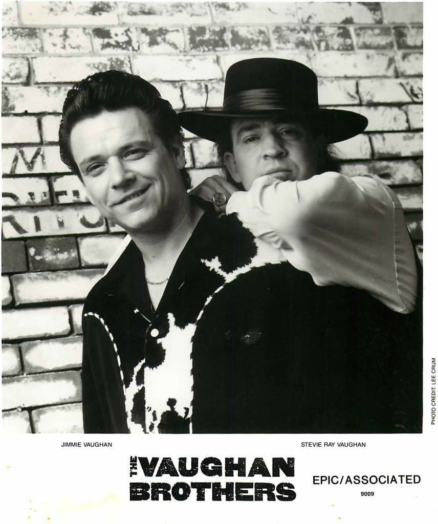 """The Vaughan Brothers: Jimmie Vaughan and Stevie Ray Vaughan"""""""