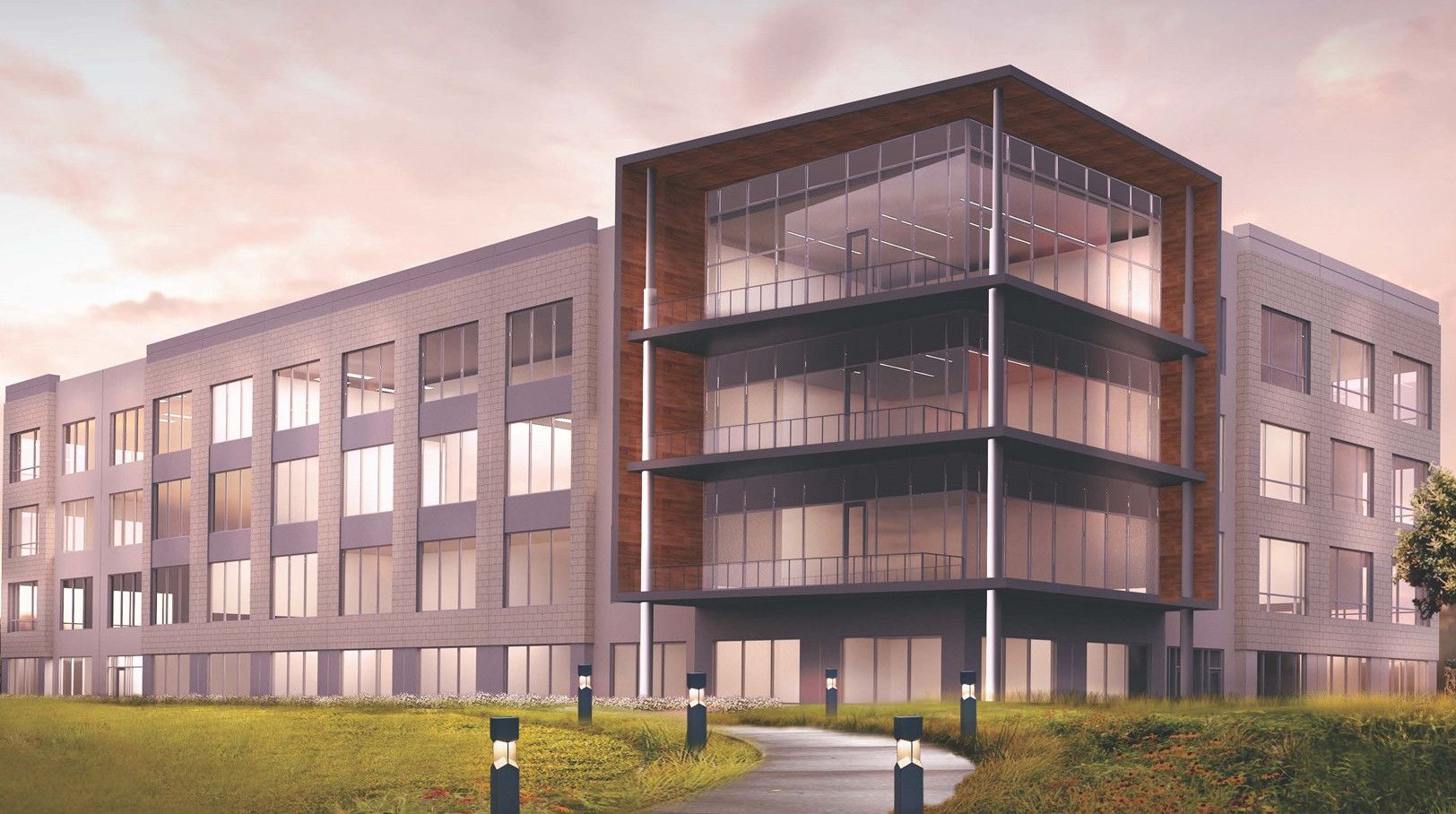Heady Investments will build the office project in Plano's Mustang Square development.