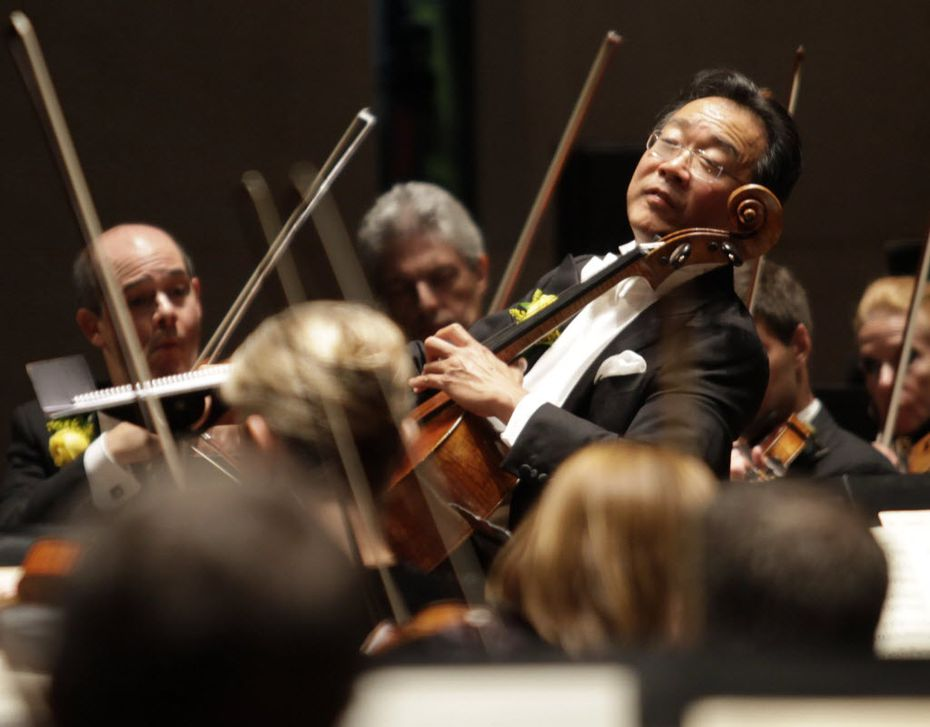 Yo-Yo Ma will be performing the Dvorak Cello Concerto with the DSO in the coming season.