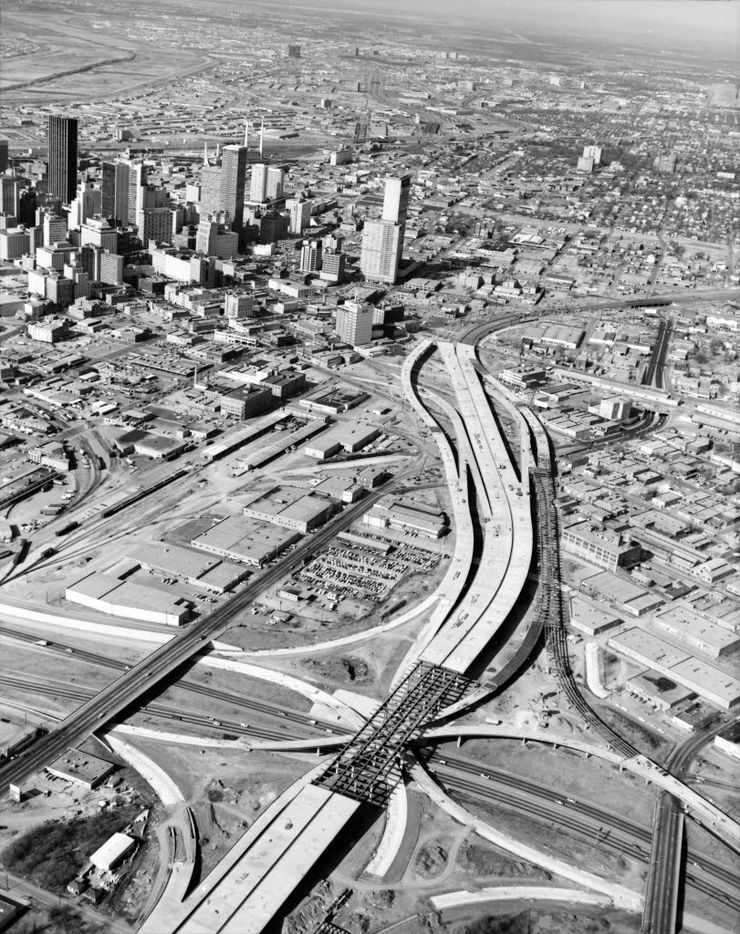 Eight years later, I-345 was under construction.
