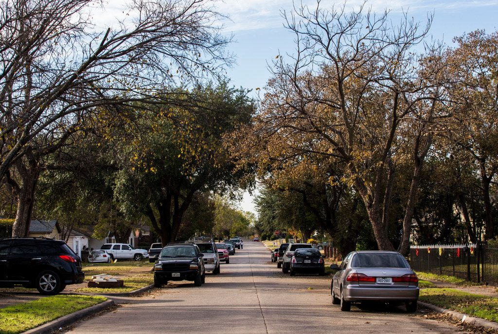 Petain Avenue in Dallas, just another street in Rickey Callahan's district